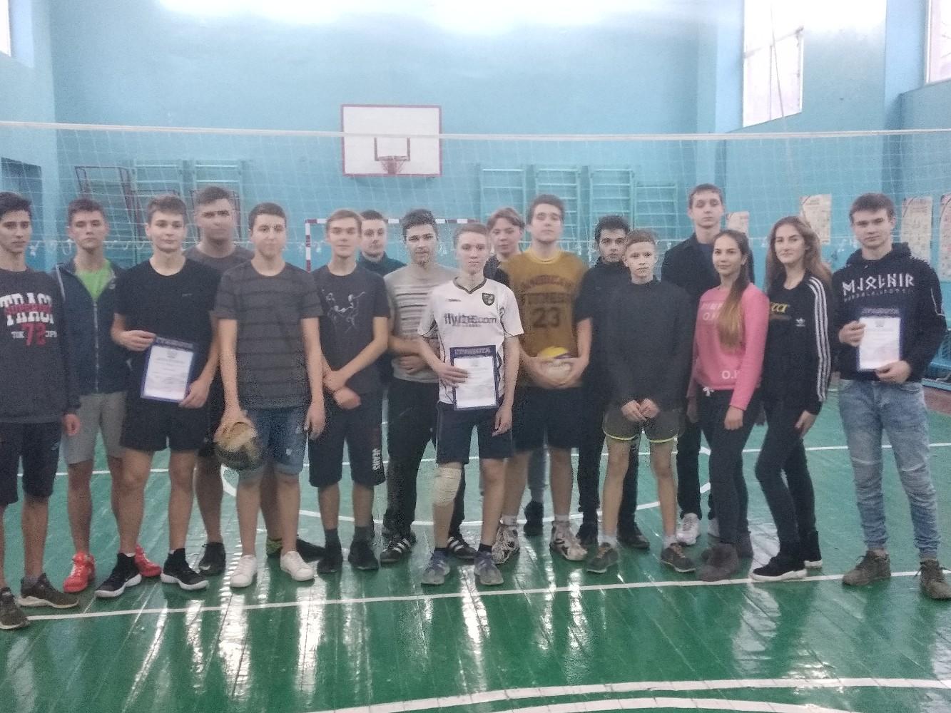 Районный этап соревнований по волейболу
