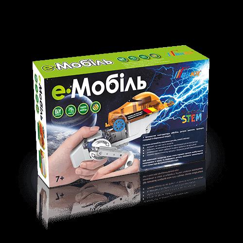 еМобиль – конструктор с динамомашиной 549грн