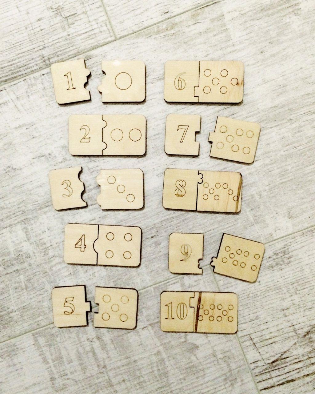 Домино, учимся считать в игровой форме