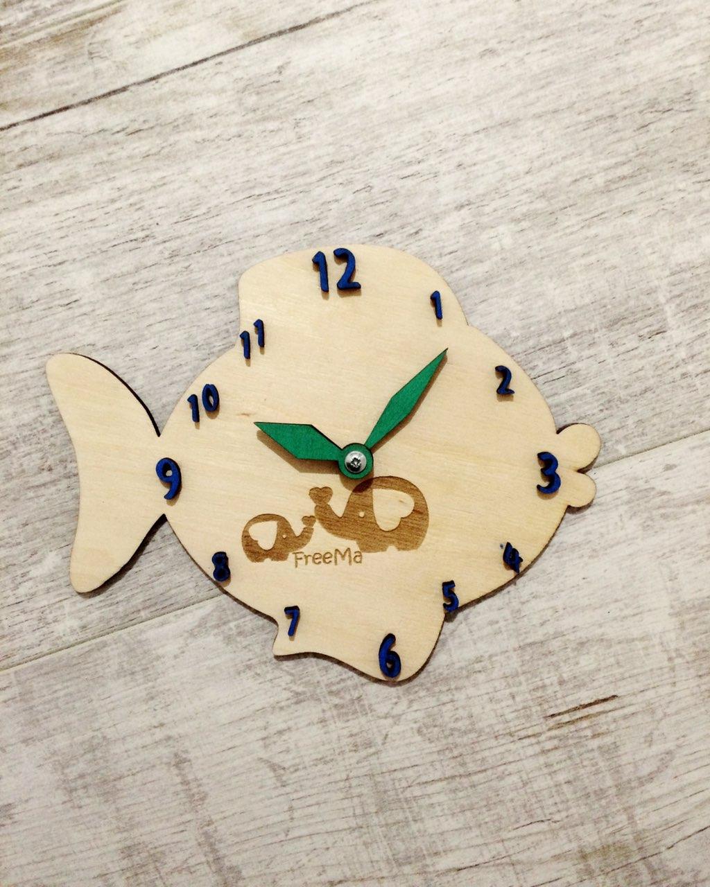 """Часы """"Рыбка"""""""